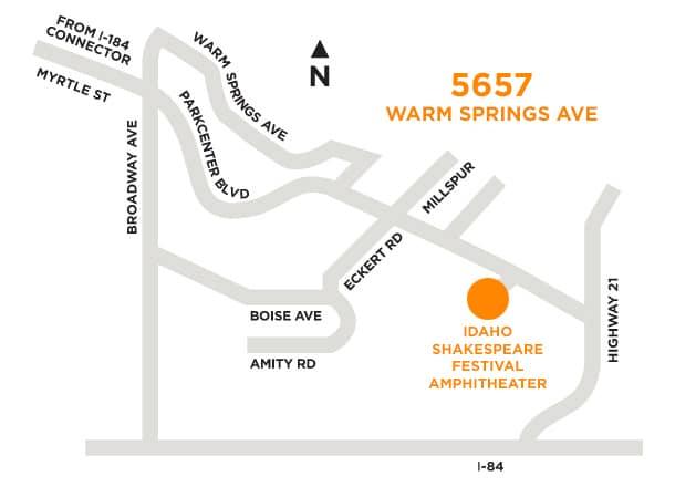 directions idaho shakespeare festival
